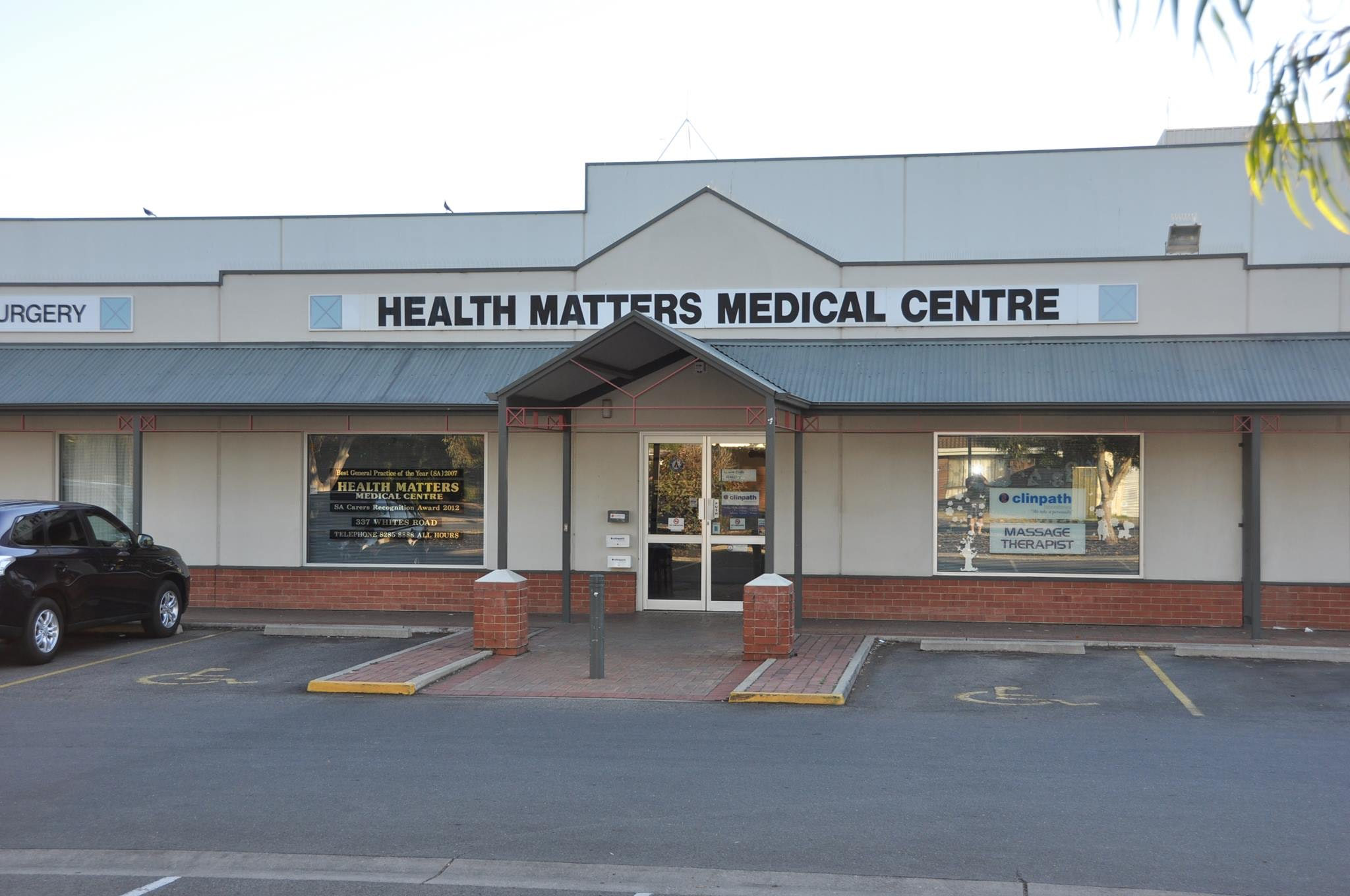 logo for Health Matters Medical Centre _disabled2 Doctors