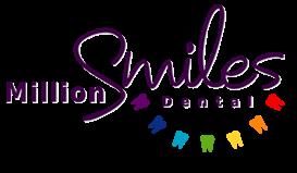 logo for Million Smiles Dental  Dentists