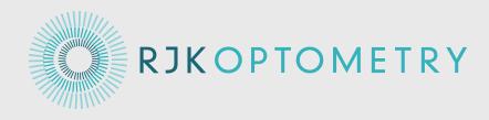 logo for RJK Optometry Optometrists
