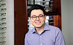 profile photo of Dr Michael Tran Optometrists Kay Street Eyecare