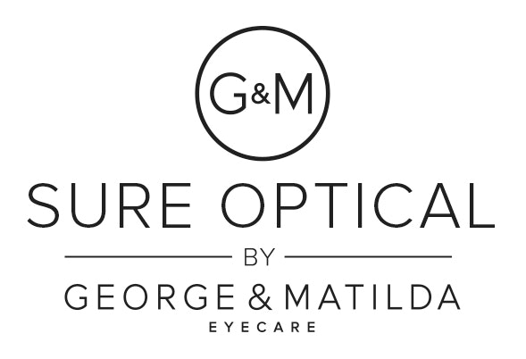 logo for Sure Optical by G&M Eyecare Optometrists