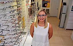 profile photo of Georgina Gibson Optometrists Sankey Fraser Eyecare - Roma
