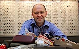 profile photo of Chris McTaggart Optometrists Eyecare Plus Griffith