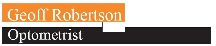 logo for Geoff Robertson Optometrists Optometrists