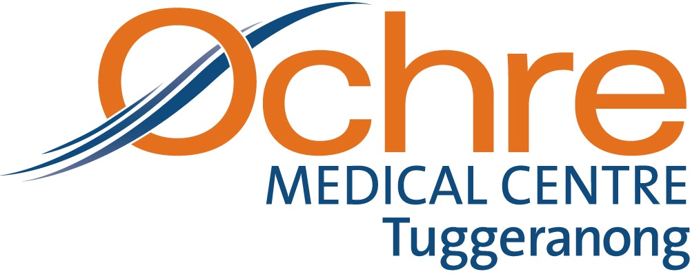 logo for Ochre Medical Centre Tuggeranong Doctors