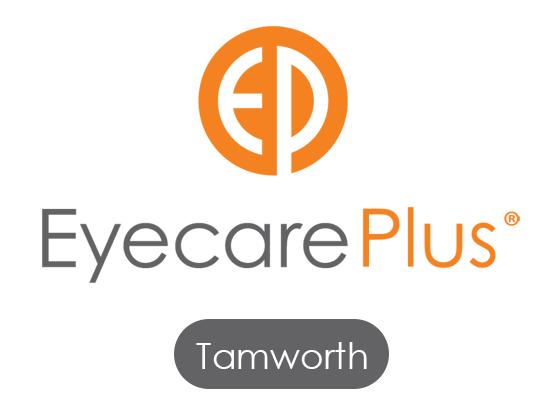 logo for Eyecare Plus Tamworth Optometrists