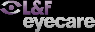 logo for L&F Eyecare  Warragul Optometrists