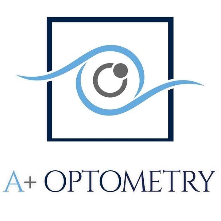 logo for A Plus Optometry Optometrists