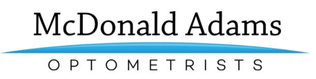 logo for McDonald Adams Optometrists Optometrists