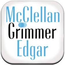 logo for McClellan Grimmer Edgar Optometrists Optometrists
