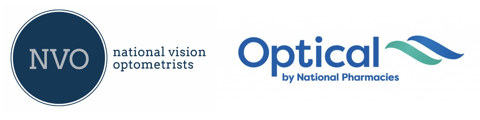 logo for National Vision Optometrists - Glenelg Optometrists
