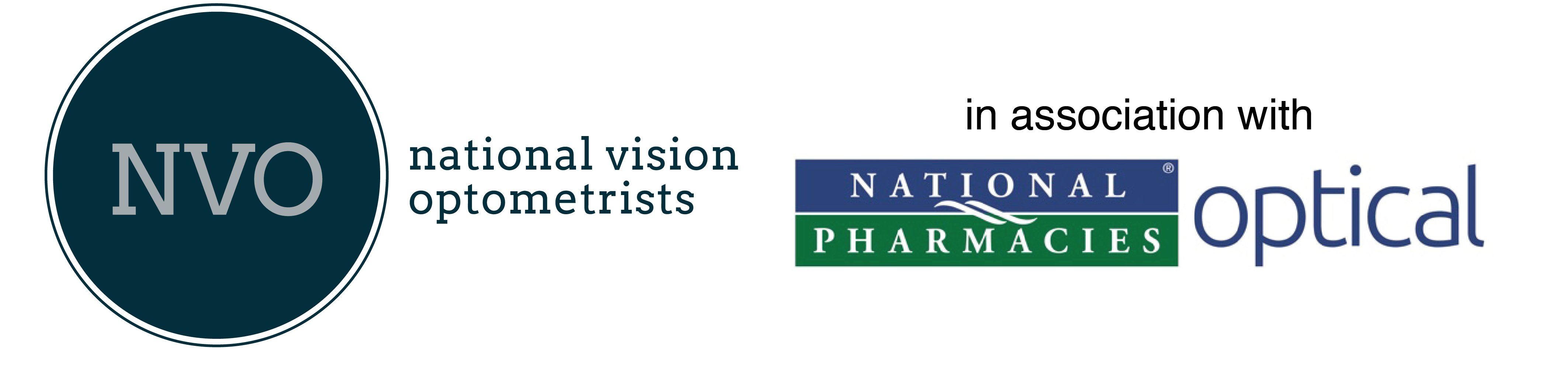 logo for National Vision Optometrists - Golden Grove Optometrists