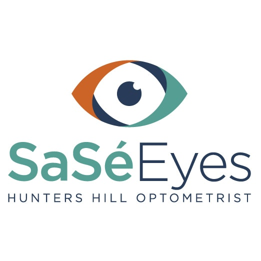 logo for SaSé Eyes Hunters Hill Optometrists