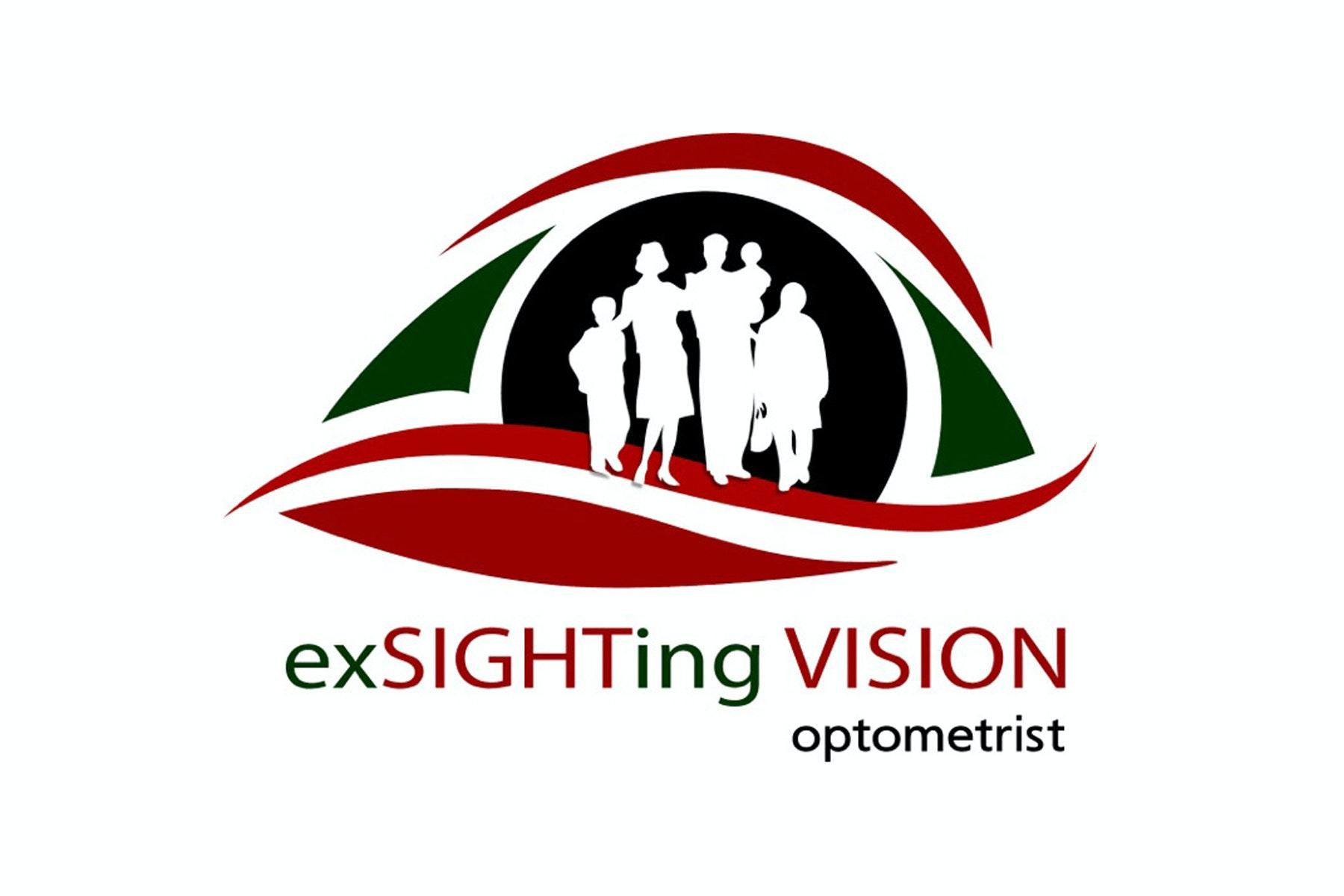 logo for ExSighting Vision Optometrist Optometrists