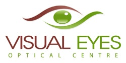 logo for Visual Eyes Optical Centre Westminster Optometrists