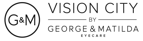 logo for Vision City by George & Matilda Eyecare - Canberra Optometrists