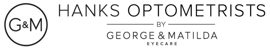 logo for Hanks Optometrists by George & Matilda Eyecare - William Street Optometrists
