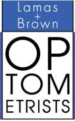 logo for Lamas & Brown Optometrists Casino Optometrists