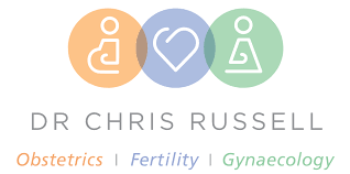 logo for Dr Chris Russell - Heidelberg Obstetrician & Gynaecologists
