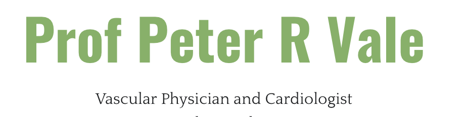 logo for Prof Peter Vale Cardiologists