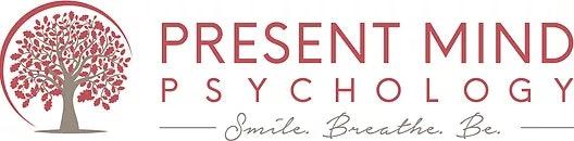logo for Present Mind Psychology Psychologists