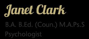 logo for Janet Clark Psychologist Psychologists