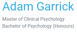 logo for Adam Garrick Psychology Psychologists