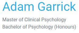 logo for Adam Garrick Psychology Psychologists