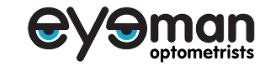 logo for Eyeman Optometrists Optometrists