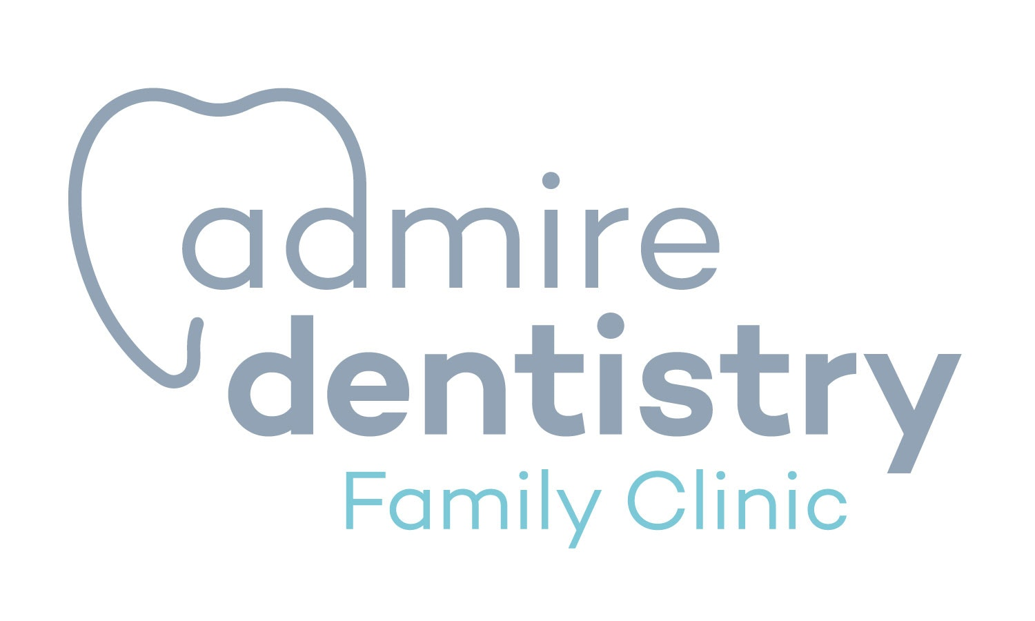 logo for Admire Dentistry Dentists