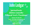 John Ledgar - Holistic Counsellor