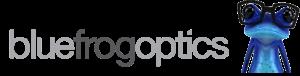 logo for Blue Frog Optics - Wagga Wagga Optometrists