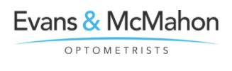 logo for Evans and McMahon Optometrists - Tuggeranong Optometrists