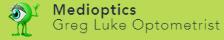 logo for Medioptics - Greg Luke Optometrist Optometrists